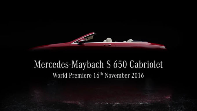 Mercedes-Maybach S650 Cabriolet привезут в Лос-Анджелес